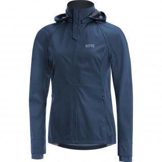Vrouwen Gore R3 Zip-Off Hooded Windbreaker