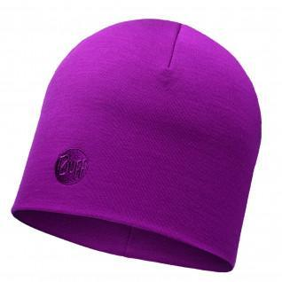 Buff Solid Thermal Beanie