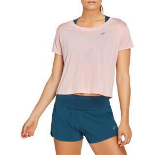 Asics Race Crop Vrouwen T-Shirt