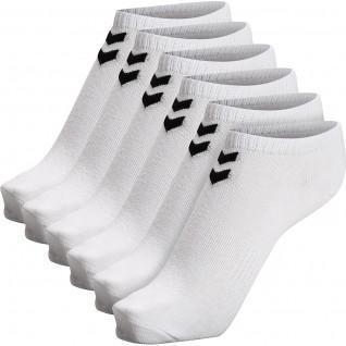 Set van 6 korte sokken voor dames Hummel hmlchevron