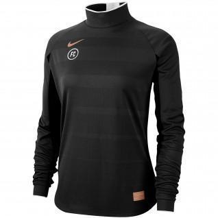 Sweatshirt vrouw Nike FC Dri-Fit