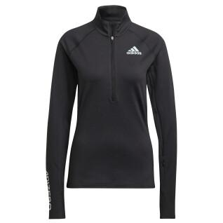 Sweatshirt vrouw adidas Adizero 1/2 Zip