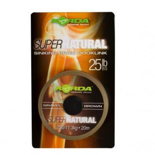 Gevlochten Karperlijn Vlecht Korda Super Natural 25lb