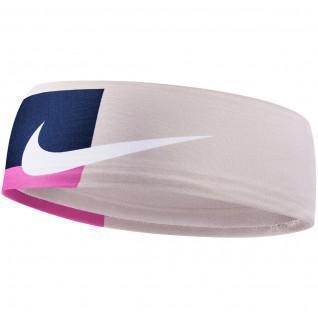 Nike bedrukte fury 2.0 hoofdband