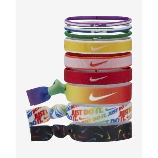 Set van 9 hoofdbanden Nike Mixe