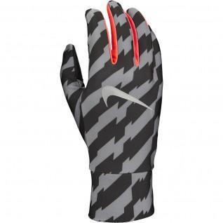 Nike bedrukte lichtgewicht tech hardloop handschoenen