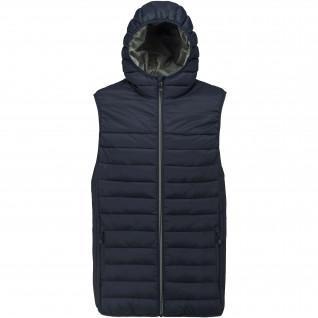 Proact Junior Sleeveless Hooded Down Jacket
