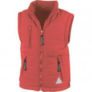 Resultaat Junior Sleeveless Coat Lined